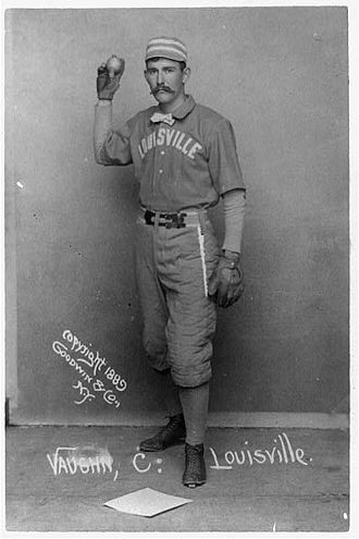 Farmer Vaughn - Farmer Vaughn with the Louisville Colonels in 1889