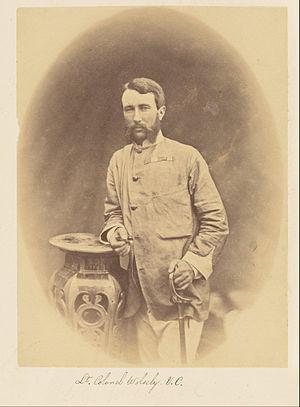 Garnet Wolseley, 1st Viscount Wolseley - Lieutenant-Colonel Wolseley in India, by Felice Beato, 1858–1859