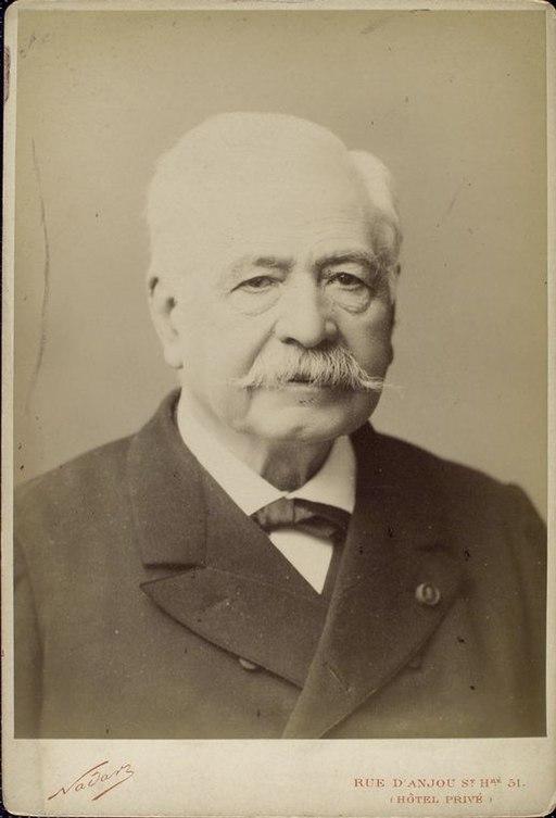 Ferdinand de Lesseps by Nadar
