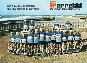 Ferretti (cycling team) - The Ferretti team of 1971