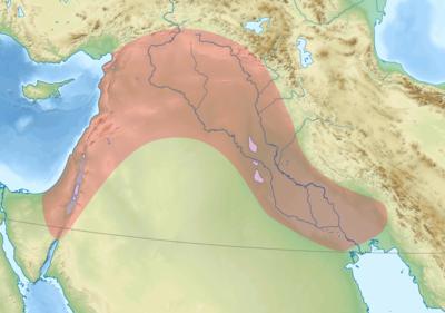 سوريا الكبرى 400px-Fertile_Crescent