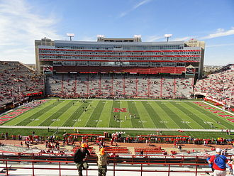 Memorial Stadium (Lincoln) - Field View