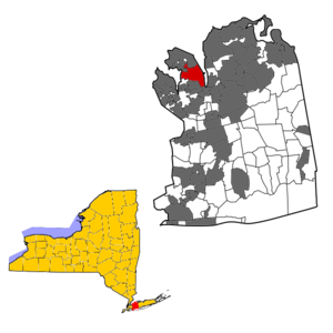 Port Washington within Nassau County