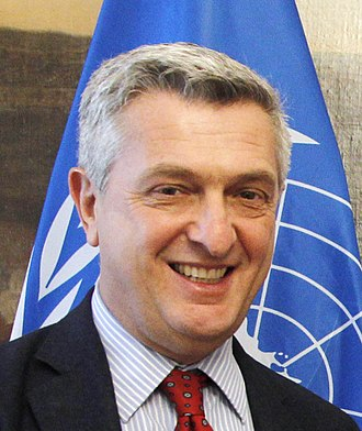 United Nations High Commissioner for Refugees - Filippo Grandi holds the post of High Commissioner since January 2016