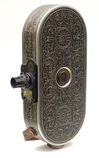 Filmo - Ornate Filmo 75 camera (1928).