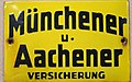 Fire Mark for Aachener und Munchener Feuer Versicherungs Gesellschaft in Aachen, Germany.jpg
