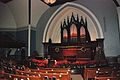 First Congregational United Church of Christ, Portland - sanctuary interior with pipe organ.jpg