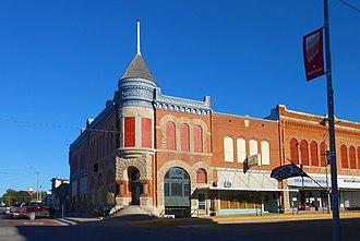 Smith Center, Kansas - First National Bank building