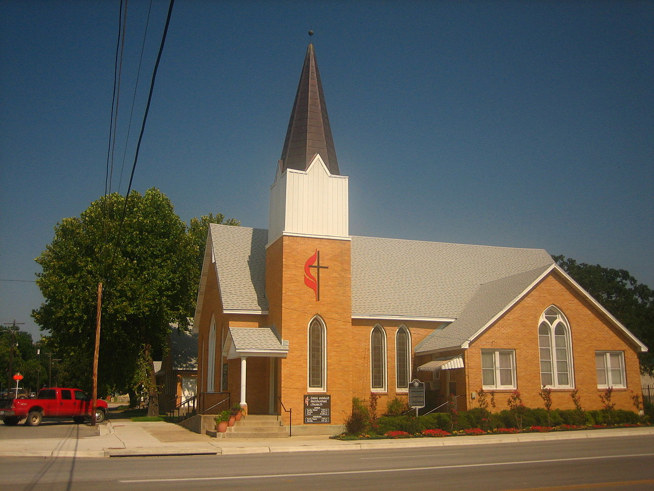 File:First United Methodist Church in Hico, TX Picture ...