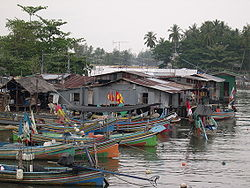 Fishing Village in Narathiwat