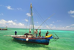 Fishing off the coast of Ambergris Caye, Belize.jpg