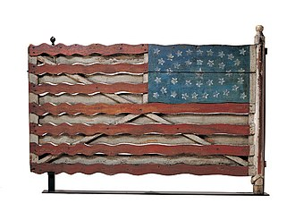 American Folk Art Museum - Image: Flag Gate, Artist unidentified