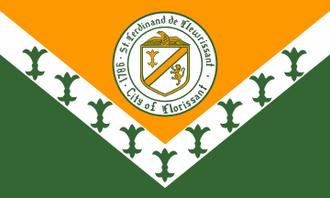 Florissant, Missouri - Image: Flag of Florissant, Missouri