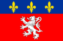 Flag of Lyon.