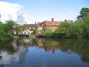 Flatford Mill - Another view of the mill