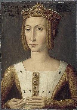 Flemish School - Lille - Margaret of Dampierre
