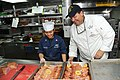 Flickr - Official U.S. Navy Imagery - Chef Jeff Bennett visits USS McCambell at sea..jpg