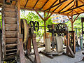 Flickr - ronsaunders47 - OLD OLIVE PRESSING MACHINERY .THASSOS.GREECE..jpg