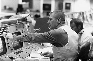 Flight Director Gene Kranz