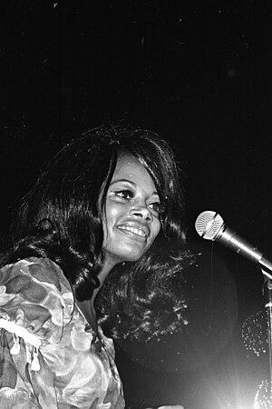 Florence LaRue - LaRue performing at Eastern Michigan University in 1970.