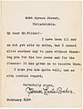 Florence Earle Coates to Amos Niven Wilder 19240208 TLS.jpg
