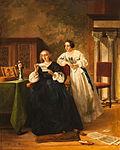 Florent Willems Frauen mit Brief.jpg