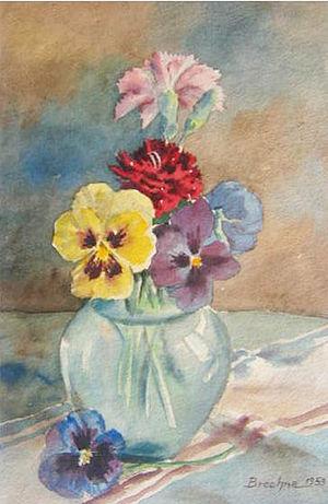 Abdul Ghafoor Breshna - Image: Flowers by Breshna