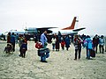 Flugfeld in Dalandsadgad 1990.jpg