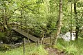Footbridge over Grassguards Gill - geograph.org.uk - 1737828.jpg