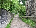 Footpath - Keighley Road, Oakworth - geograph.org.uk - 830914.jpg
