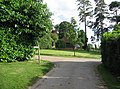 Footpath and Huish House grounds - geograph.org.uk - 898305.jpg