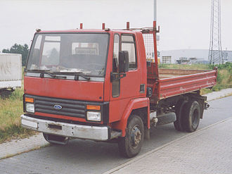 Ford Cargo - Pre-facelift Ford Cargo in Germany.  (North American version is similar)
