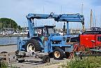 Ford tractor in Roskilde, Denmark.JPG