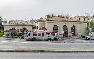 Forest Hill station (Muni Metro) - Forest Hill station headhouse in 2018