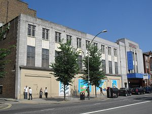 Astoria Theatre, Brighton - The building in 2010, seen from the southeast