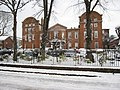 Former Chester Infirmary in the snow - geograph.org.uk - 1655122.jpg