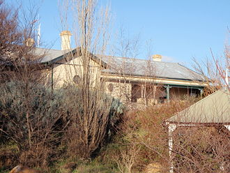 Lancefield, Victoria - The former Lancefield railway station