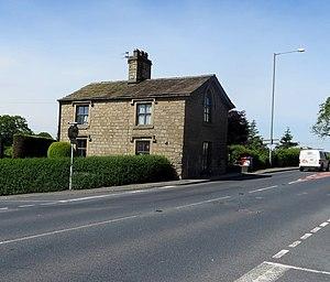 Listed buildings in Simonstone, Lancashire - Image: Former toll house, Simonstone