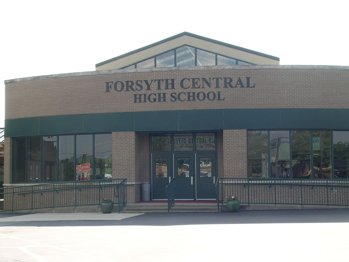 Image result for Forsyth county Central High school