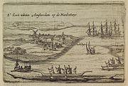 Fort Amsterdam on Manhattan