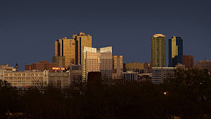 Fort Worth, Texas - Skyline of Fort Worth