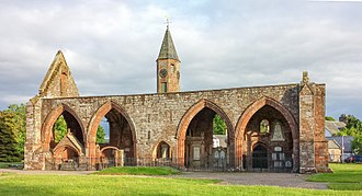 Fortrose Cathedral - Image: Fortrose Cathedral north 2013