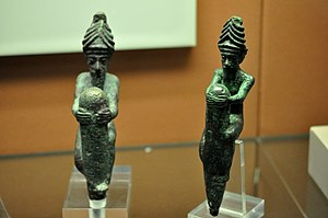 Foundation figures - Image: Foundation Pegs, from Ningirsu Temple, Girsu