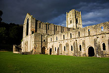 Fountains Abbey at night.jpg