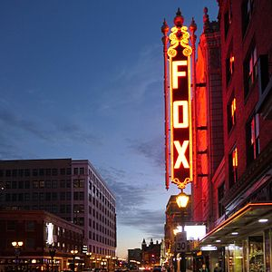 Fox Theatre (St. Louis) - The Fox Theatre, St Louis