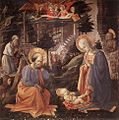 Fra Filippo Lippi - Adoration of the Child - WGA13245.jpg