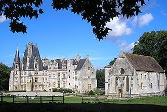 Canton of Bretteville-l'Orgueilleuse - Castle of Fontaine-Henry
