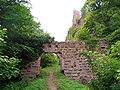 France Bas-Rhin Girbaden Castle Entrance.jpg