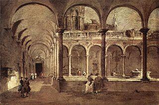 Cloister in Venice
