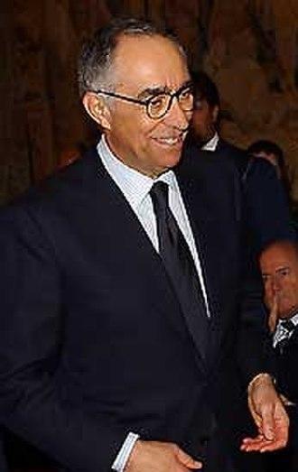 Franco Carraro - Franco Carraro after the election